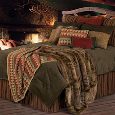 Rustic bedding ideas rustic comforter sets fascinating rustic bedding ideas captivating home and furniture concept charming . Rustic Comforter Sets, Italian Home Decor, Western Bedding, Country Bedding, Stylish Bedroom, Up House, Bed Design, Luxury Bedding, Modern Bedding