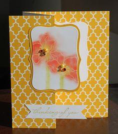 Venetian papers, Charming Gardners stamp set #amusestudio #sneakpeek #floral