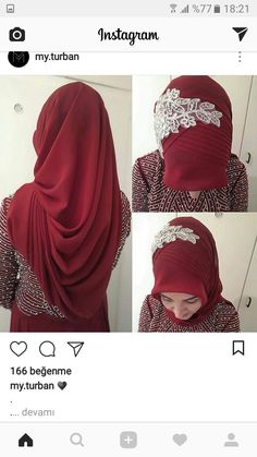 Bridal Hijab Styles, Muslim Wedding Dresses, Wedding Hijab, Hairstyle Trends, How To Wear Hijab, Hair Scarf Styles, Simple Hijab, Turban Hijab, Hijab Bride