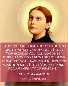 Our Catholic Faith Catholic Quotes, Catholic Prayers, Catholic Saints, Religious Quotes, Roman Catholic, Gk Chesterton, Holy Mary, St Gemma Galgani, Saint Quotes