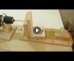 Making a horizontal and angle drill mini lathe