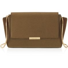 Henri Bendel Gotham Haircalf Clutch (1,205 AED) ❤ liked on Polyvore featuring bags, handbags, clutches, taupe, pony hair purse, henri bendel handbags, calf hair handbags, brown handbags and haircalf handbags