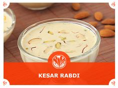 #Kesari #Rabri #Ingredients: 1 ½ liter Whole Fat #Milk 200 ml #Fresh #Cream 6 tbsp #Sugar ¼ tsp #Saffron ¼ tsp #Cardamom Powder ½ tbsp Milk #Masala Method: Bring milk to boil, reduce heat to low and mix in cream, sugar, saffron. Keep boiling for 1 hr. Stir frequently. Once the milk reduces to 1/3 quantity of its original, stir in cardamom powder & milk masala. Let it cool down completely and refrigerate to chill.
