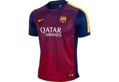 Nike Kids Barcelona Prematch Top - Loyal Blue...available at SoccerPro right now!