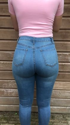 Sexy Jeans, Superenge Jeans, High Jeans, Skinny Jeans, Curvy Jeans, Beste Jeans, Curvy Women Fashion, Girls Jeans, Distressed Jeans