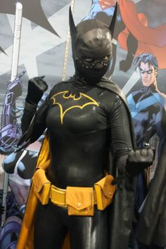 #Cosplay: #Batgirl (Cassandra Cain)