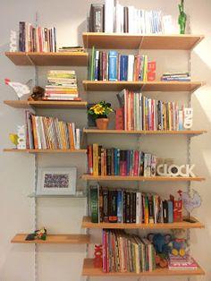 DIY: Rak Buku Karya Si Ayah