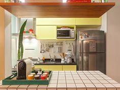 Residência Maynard | Isabela Bethônico Arquitetura. Cozinha / Cores / Textura / Funcionalidade
