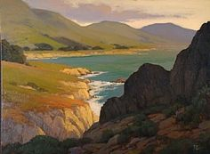 Afternoon at Rocky Point by Brian Blood Oil ~ 30 x 40