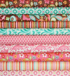 because Zach wants pink for his lil girl :)   Sweet Nothings Fabric by Zoe Pearn for Riley Blake by fabricshoppe, $2.50
