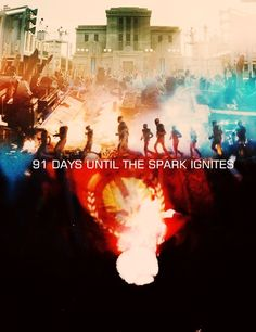 91 Days Until The Spark Ignites. Possibly favorite one yet. Made By: @Elly Williams