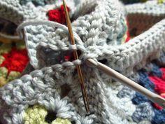 Joining Granny Squares | Little Tin Bird