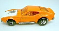 Matchbox No.44B Boss Mustang pre-production model in orange with white hood