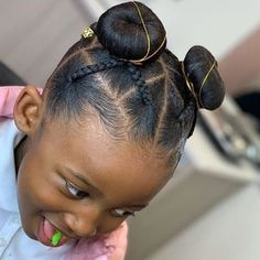 Childrens Hairstyles, Lil Girl Hairstyles, Black Kids Hairstyles, Natural Hairstyles For Kids, Kids Braided Hairstyles, My Hairstyle, Natural Hair Styles, Curly Hair Styles, Hairstyle Ideas