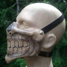 evil grin face mask
