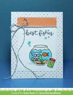 Netter's Notables: Lawn Fawn Inspiration Week Fintastic Friends and new Inks