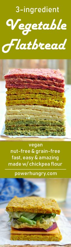 It's quick & easy to make and only 53 calories per generous slice. is he key ingredient! Vegan Gluten Free, Gluten Free Recipes, Vegan Vegetarian, Vegetarian Recipes, Dairy Free, Healthy Recipes, Vegan Foods, Vegan Dishes, Pains Sans Gluten