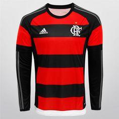 Camisa Adidas Flamengo I 15 16 s nº M L - Compre Agora 002acafa9a734