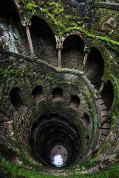 This stairwell is in Portugal.
