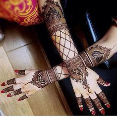 Emirates henna design