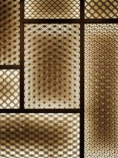 - Best ideas for decoration and makeup - Japanese Modern, Japanese Design, Lattice Screen, Japan Interior, Partition Screen, Design Blog, Club Design, Wall Finishes, Panel Art