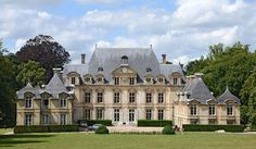 French Mansion, Modern Mansion, 2 Bedroom House Plans, Georgian Architecture, French Castles, Château Fort, Castle House, Grand Homes, Marquise
