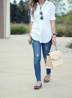 Lilly Style: classic button down - a wardrobe essential