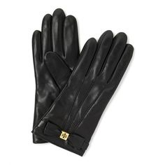 Tory Burch Bow Glove ($175) ❤ liked on Polyvore