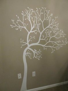 WALL & CEILING DECAL IDEA                     Tree Wall Decal for Nursery