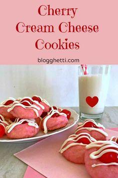 Cherry Cream Cheese Cookies #helpingcookies