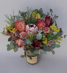 Is Vermiculite Safe For Organic Gardening Australian Native Garden, Australian Native Flowers, Australian Plants, Ikebana Arrangements, Floral Arrangements, Fall Flowers, Dried Flowers, Flowers Garden, Flower Power