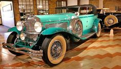 In Today's feature, car aficionado Jennifer Strong visits the world-famous Auburn Cord Duesenberg Museum in Auburn, Indiana. Learn about the Errett Lobban Cord Art Deco masterpiece that much of the Museum is housed in and view the extraordinary automobiles on display at: http://theoldmotor.com/?p=150642