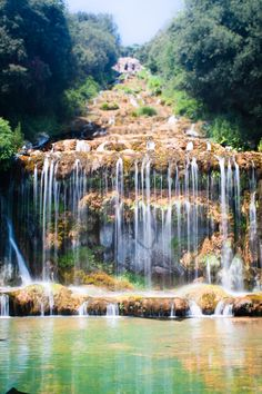 Caserta, Campania..now thats what I call a waterfall:-)