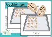 Multiplication Arrays:  Cookie Tray This would be a good building block for 4.nbt.5