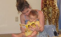 Reading To Your Baby by icanteachmychild: Why it's important to read to your newborn and why it's so much fun! #Babies #Reading #icanteachmychild