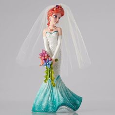 Disney Showcase Couture de Force - Ariel Wedding day Bride Little Mermaid New