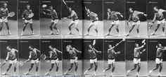 5 giocatori di tennis con selvaggio e folle Strokes, stili, e le prese «Sito Ufficiale di Oscar Wegner e moderna Tennis Metodologia MTM - LS