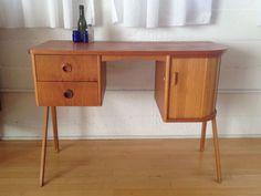 Los Angeles: danish modern mid century vanity small desk perfect amazing $700 - http://furnishlyst.com/listings/522637