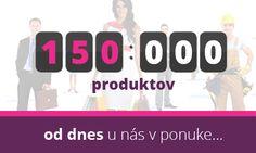 Od dnes nájdete u nás v ponuke viac ako 150.000 produktov, ktoré môžete kúpiť.  http://www.123-nakup.sk/?utm_content=buffer4310f&utm_medium=social&utm_source=pinterest.com&utm_campaign=buffer  #nákupná_sociálna_sieť #sieť #jednoduchý_nákup #eshop #portál #predajca #predaj #ponuka #produkty #poskytovateľ_služieb #služby #zákazník #profil #vizitka #webvizitka #fórum #poradenstvo #články #rss