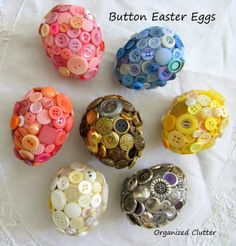 Button Easter Eggs