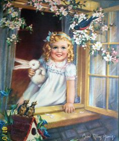 "/""Spring/"" by Mabel Rollins Harris"