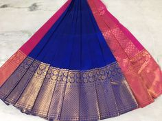 Buy Women's Clothing Online in India Kuppadam Pattu Sarees, Ethnic Sarees, Blue Silk Saree, Elegant Fashion Wear, Trendy Fashion, Folk Embroidery, Sarees Online, Things To Buy, Cheer Skirts