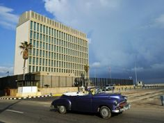 "Secretary of State Rex Tillerson announced Friday that America would withdraw all ""non-emergency personnel"" from the U.S. embassy in Cuba."