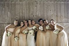 Real Wedding: Rustic and Peach Rustic Wedding Photography by: Janelle Rodriguez Photography