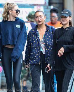 海外セレブスナップ | Celebrity Style: 【ジジ・ハディッド】スタイル抜群のアスレジャースタイルで妹ベラ・ハディッドとお出かけ!