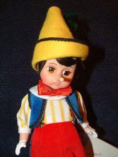 Madame Alexander # 477 Pinocchio 8 Inch Doll ~ Original Box