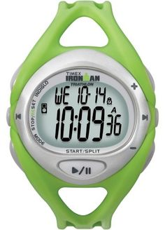 Timex Unisex T5K058 Green Ironman Sleek iControl Resin Strap Watch -- To view further for this item, visit the image link.
