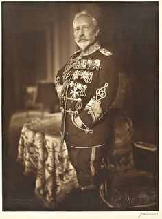 Wilhelm II wearing his uniform at Huis Doorn.