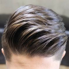 Textured Comb Over