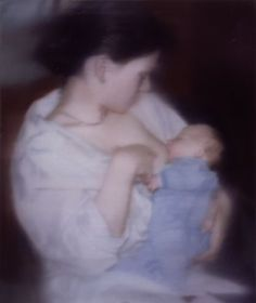 Gerhard Richter » Art » Paintings » Photo Paintings » S. with Child » 827-5